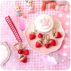 Momoi - Strawberry Keyring