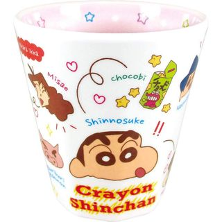 T'S Factory - Crayon Shin-Chan Printed Plastic Cup (Characters)