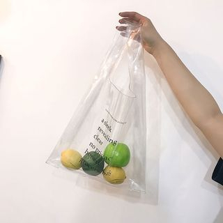 Clair Fashion - Transparent Tote Bag