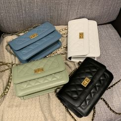 Road to Love - Quilted Handbag