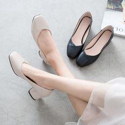 Kireina - 方鞋粗跟鞋