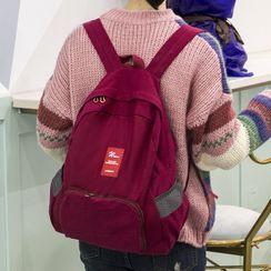 Evorest Bags - 贴布绣帆布背包