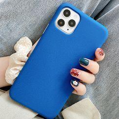 TinyGal - 纯色手机保护套 - iPhone 11 Pro Max / 11 Pro / 11 / SE / XS Max / XS / XR / X / SE 2 / 8 / 8 Plus / 7 / 7 Plus