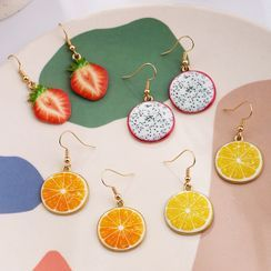 Noverkski - Fruit Drop Earring / Clip-On Earring