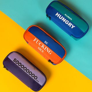 KIITOS - Lettering Color Panel Pouch