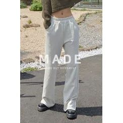 SIMPLY MOOD - Wide-Leg Sweatpants