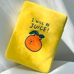 YUPIN - Fruit Flannel iPad Case