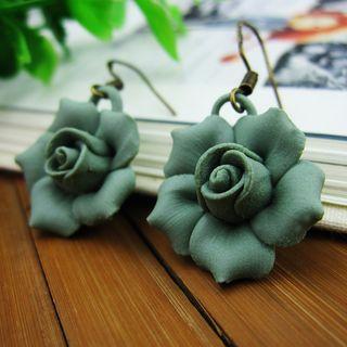 Townlet - 陶瓷花朵耳墜
