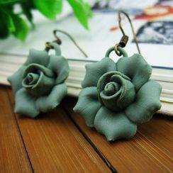 Townlet - 陶瓷花朵耳坠