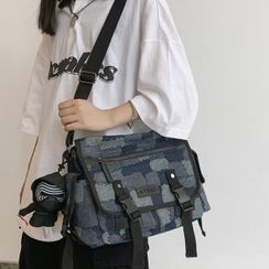 EAVALURE - Canvas Messenger Bag