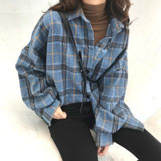 Guajillo - Long-Sleeve Plaid Shirt