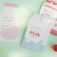 Jun's Journal - Drink Print Memo Pad