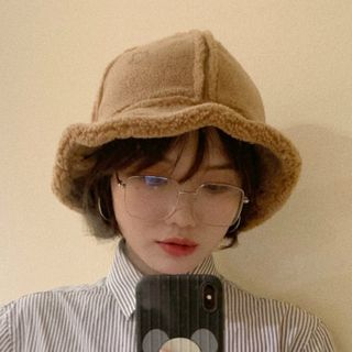 FROME - Genuine Shearling Bucket Hat