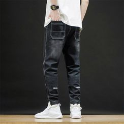 Andrei - Label Tag Jogger Jeans