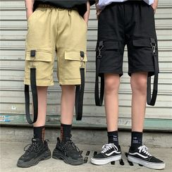 Banash - Buckled Cargo Shorts