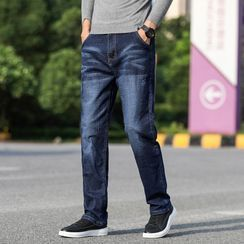 Denimic - 寬腿牛仔褲