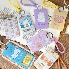 Ofenza - Cartoon Card Holder Keyring (various designs)