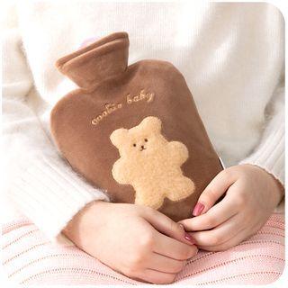 默默愛 - 法蘭絨熊熱水袋