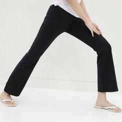 Lemite - Band-Waist Boot-Cut Sweatpants