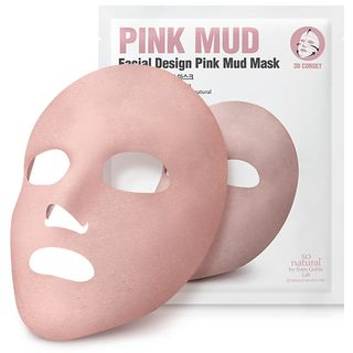 so natural - Facial Design Pink Mud Mask