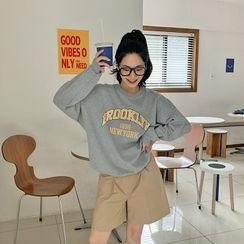 FROMBEGINNING - Varsity Letter Sweatshirt
