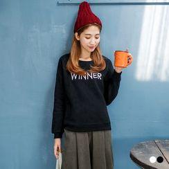 OrangeBear - Winner Fleecy Sweatshirt