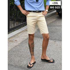 GERIO - Band-Side Bermuda Shorts
