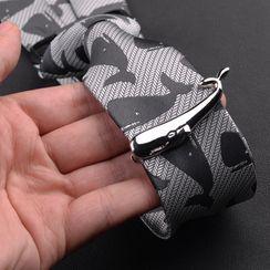 Prodigy - 不鏽鋼鯨魚領帶夾
