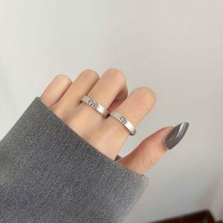 FOON - 情侣小猫印花戒指