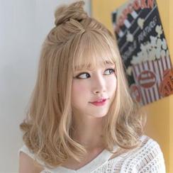 SEVENQ - 中长假发 - 直髪