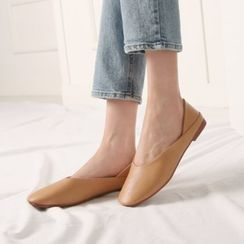 Wifky - Square-Toe Foldable Flats