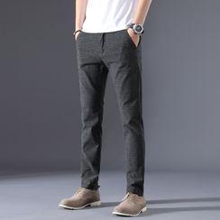 Denimic - 純色錐形褲