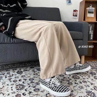 CooLook - 抽绳脚口宽腿裤
