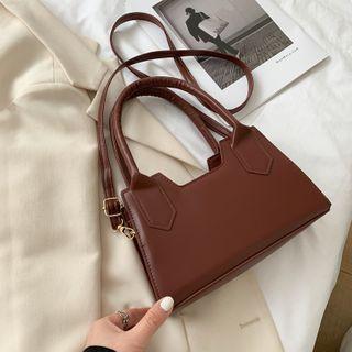 mizandrus - Top Handle Plain Crossbody Bag