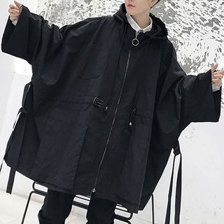 Bjorn - Oversized Zip Hooded Coat