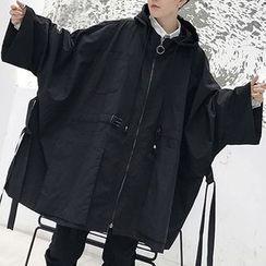Bjorn - Oversized Zip Hooded Coat