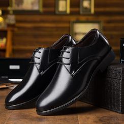 Kayne H - Pointed Oxford Shoes