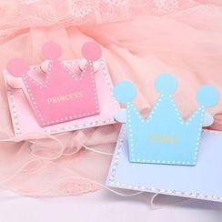 Dojia - Crown Greeting Card