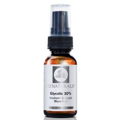 Oz Naturals - 30% Glycolic Acid Micro Peel (Clear Blackheads & Clogged Pores)