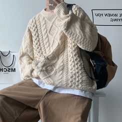 emeisa - Cable Knit Sweater