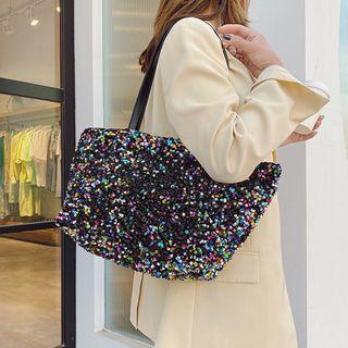 Cat Palace - Sequined Chain Handbag Bag