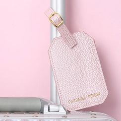 Pagala - Travel Faux Leather Luggage Tag