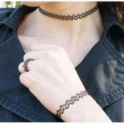 Ticoo - Choker / Ring / Bracelet