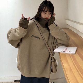 Fairy Essential - Mock Two-Piece Long-Sleeve Sweatshirt