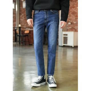 GERIO - Washed Slim-Fit Jeans