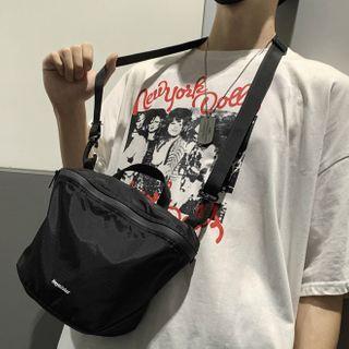 SUNMAN - Plain Zip Crossbody Bag