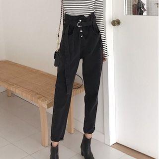 Brooklane - High-Waist Skinny Pants