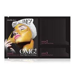 double dare - OMG! 3 In 1 Kit Peel Off Mask