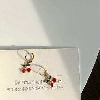 Calypso - Glaze Cherry Dangle Earring