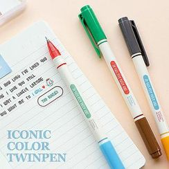 Full House - Iconic - Set of 3: Double-Tipped Gel Pens